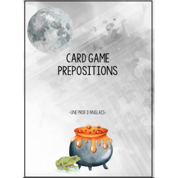 Card Game: Preposition