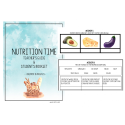Nutrition Time Student Booklet and Evaluation Tool