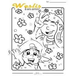 coloriageamisWeslis