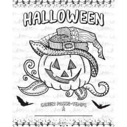 Cahier passe-temps Halloween