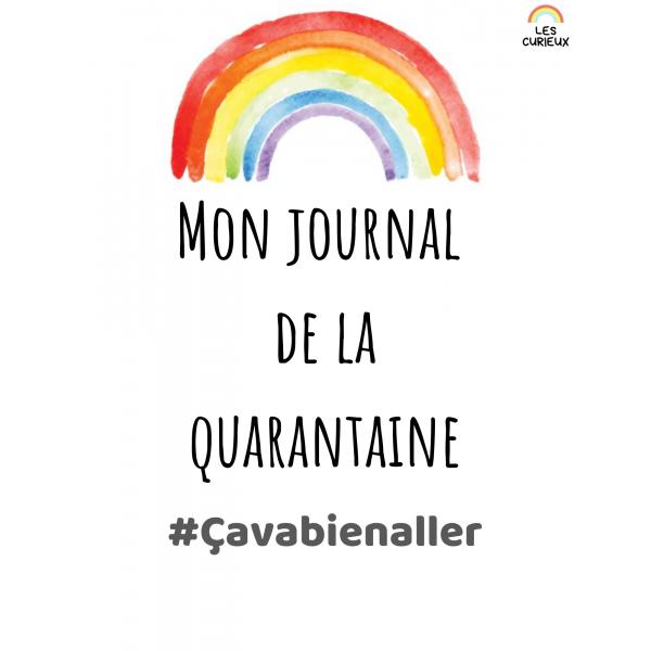 Journal de la quarantaine (usage personnel)