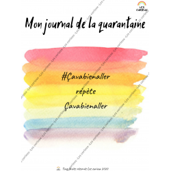 Journal de la quarantaine ADULTES