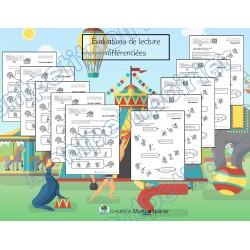 Tâches d'évaluation en lecture - Cirque