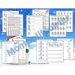 Cahier de mathématiques - Hiver (0 à 99)