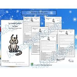 Texte informatif- Le lynx (5 versions)