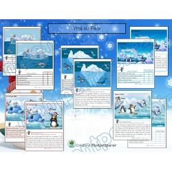 Atelier de lecture-thème animaux polaires