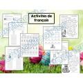 Cahier Passe-temps-Pâques-Activités en français