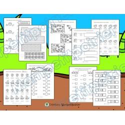 Cahier d'activités maths - Insectes (nb 0 à 999)