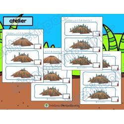 Atelier et cahier- dénombrer des fourmis (0-20)