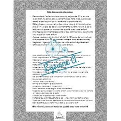 Documents pour la réunion de parents
