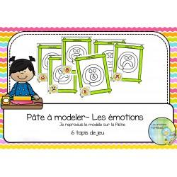 Pâte à modeler - Les émotions