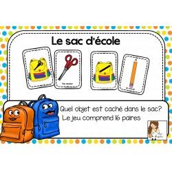 Le sac d'école