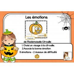 Les émotions de Mademoiselle Citrouille