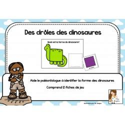 Des drôles de dinosaures