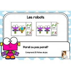 Les robots - pareil ou pas pareil
