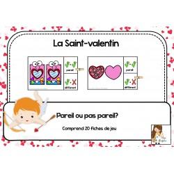 La Saint-Valentin : pareil ou pas pareil