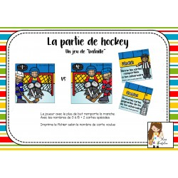 La partie de hockey