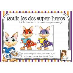 Roule les dés - Super-héros