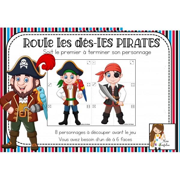 Roule les dés - Les pirates