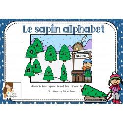 Le sapin alphabet