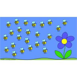 Présences des abeilles