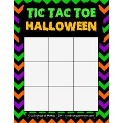 Tic Tac Toe de Halloween (Morpion)