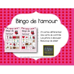 #gatonsnosenseignants Bingo de la St-Valentin