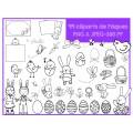 99 Cliparts de Pâques (printemps)