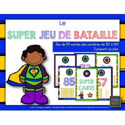 Le SUPER JEU DE BATAILLE
