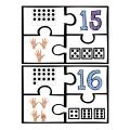 Les casse-têtes représentations nombres 1 à 20