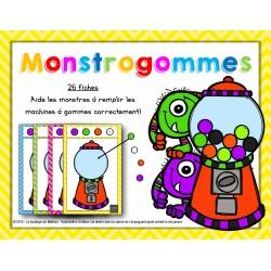 Monstrogommes – Les machines à gommes
