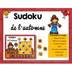 Sudoku de l'automne (Centre mathématique)