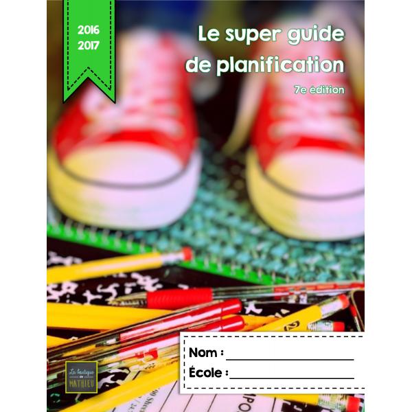 Super guide de planification 16-17 (5 p.)