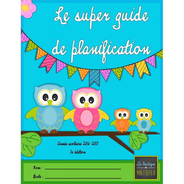 Guide de planification 16-17 (5 périodes)