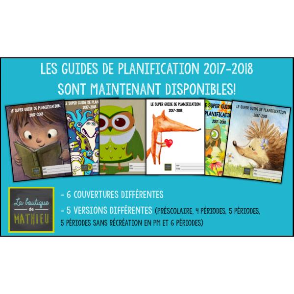 Guide de planification 17-18 (5 p, Couv: hibou 2)
