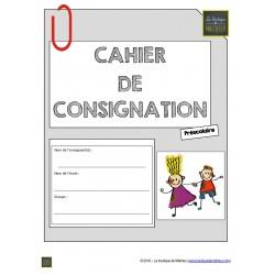 Cahier de consignation du préscolaire (MODIF)