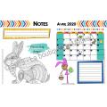 Guide de planification 2019-2020 (5 p. - Hibou)