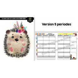 Super Guide Planification (5 pér. - Hérisson)