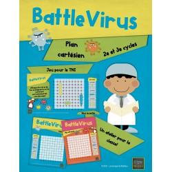 Battlevirus (plan cartésien) + Jeu pour le TNI