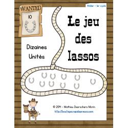 Le jeu des lassos (dizaines-unités) – Western