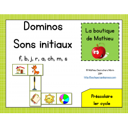 Dominos des sons initiaux