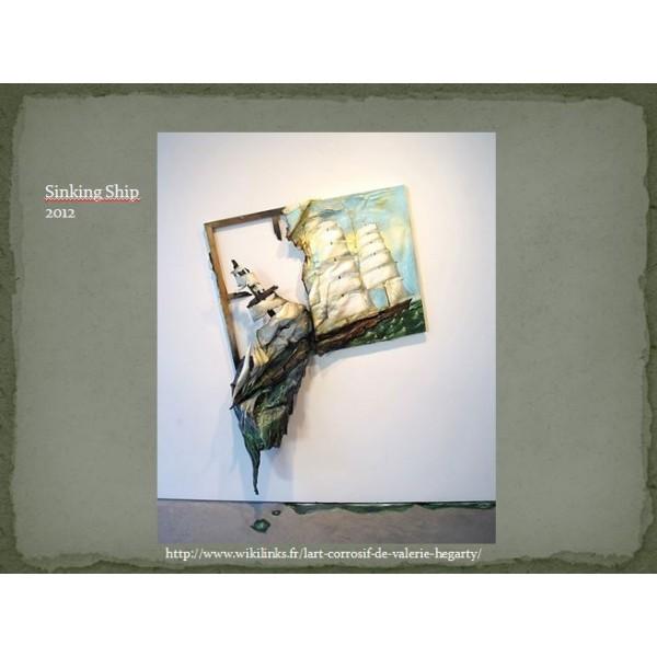 Appréciation en art de l'artiste Valerie Hegarty