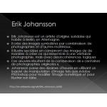 Appréciation en art de l'artiste Erik Johansson