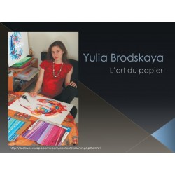 Appréciation en art de l'artiste Yulia Brodskaya