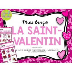 Bingo pour la Saint-Valentin