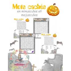 Mots cachés Halloween