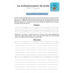 """Fiche """"Le collectionneur de mots"""""""