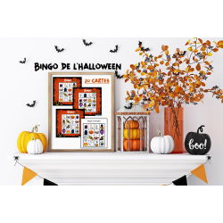 Bingo Halloween :  20 cartes