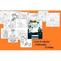 Livre à colorier Halloween