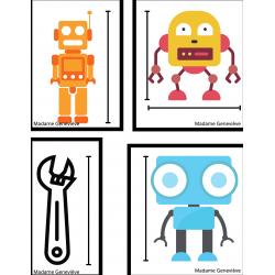 Mesures des robots